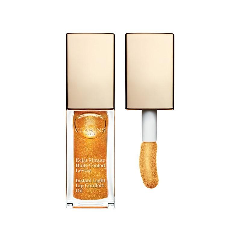 Clarins Eclat Minute Aceite Confort Labios 07 honey Glam