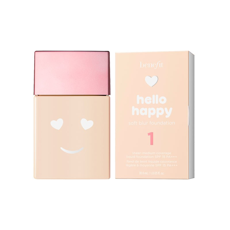 Benefit Hello Happy Base de Maquillaje 01
