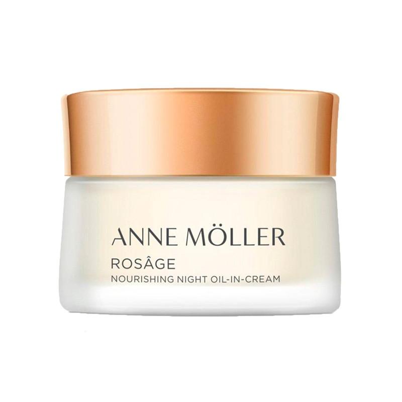 Anne Moller Rosage Aceite en Crema Nutritivo de Noche