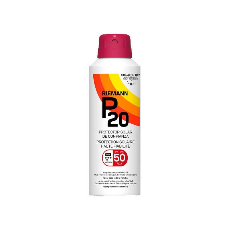 RIEMANN P20  Protector Solar de Confianza Spray SPF 50