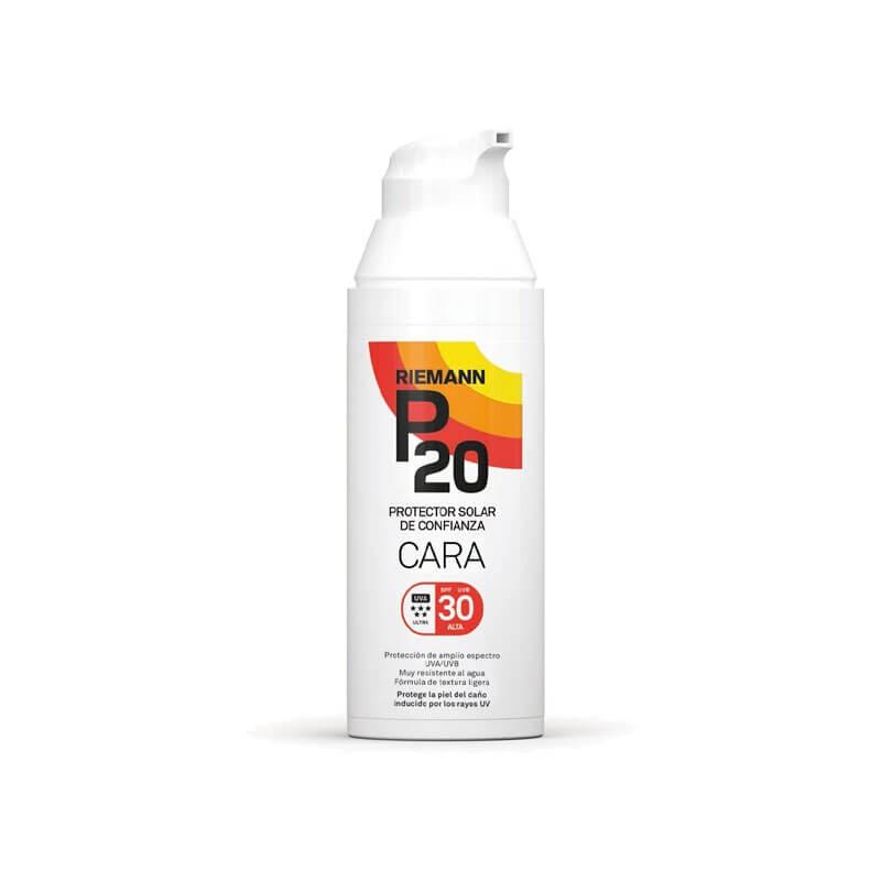 RIEMANN P20  Protector Solar de Confianza Cara SPF 30