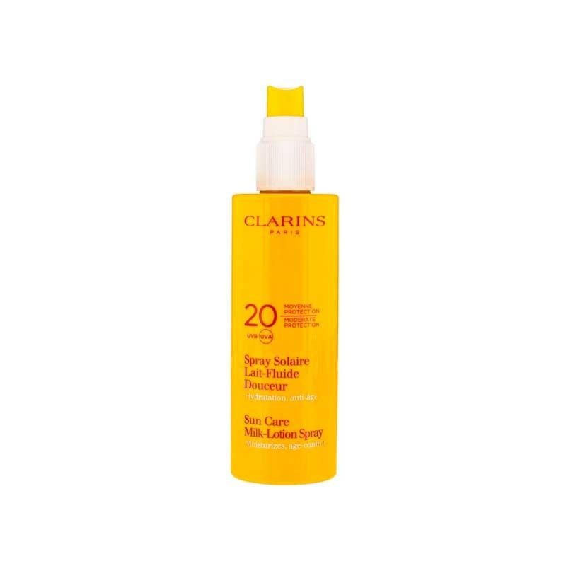 Clarins Spray Solar Leche-fluido SPF20