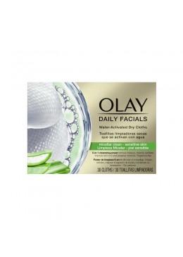 OlayDaily Facials toallitas limpiadoras piel sensible