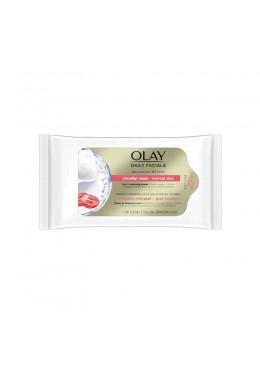 olay   Daily Facials toallitas limpiadoras piel normal