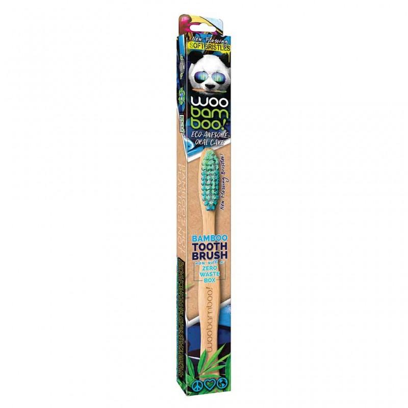 WooBamboo Zero Waste Cepillo de Dientes de bambú